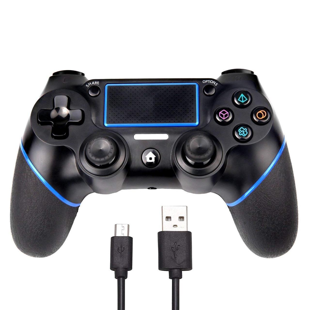Бездротовий Ігровий Контролер для PlayStation Dualshock 4 PS4 Slim Pro Bluetooth від SADES