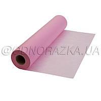 Одноразовая простынь в рулоне, розовые, 60х100