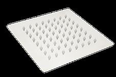 Душ верхний из нержавейки 20 см. квадратный, фото 3