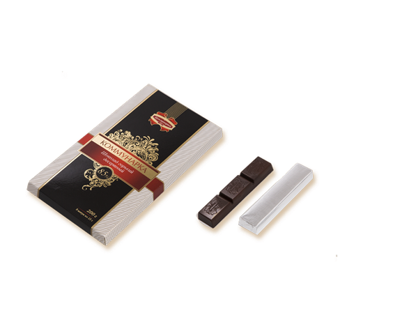 "Белорусский горький десертный шоколад ""85%"" 200 гр ТМ Коммунарка, фото 2"