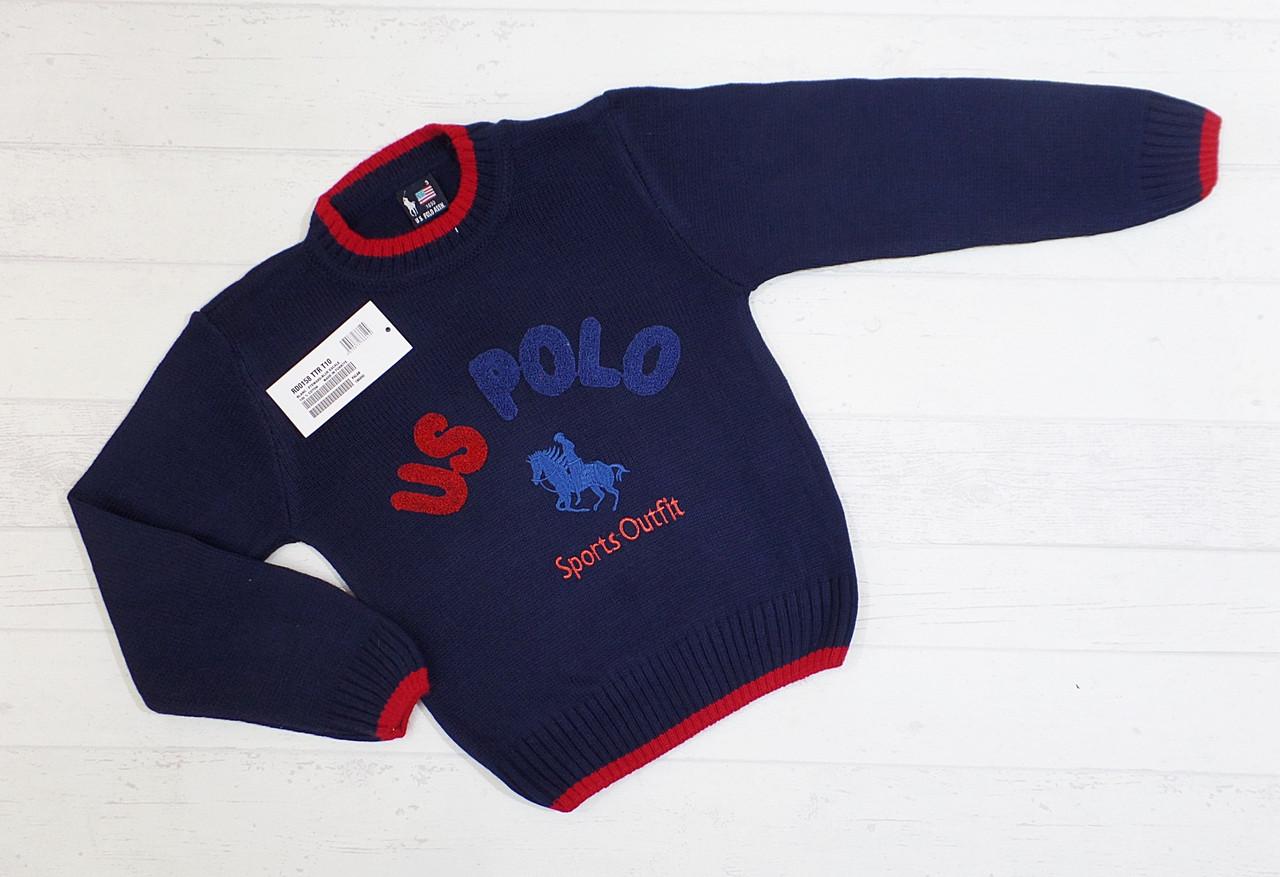 """Детский свитер для мальчика """" Марк Поло """" 3,4,5 лет(реально 5,6,7)"""