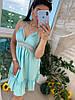 Женский летний сарафан с рюшами в расцветках. Д-1-0719, фото 5