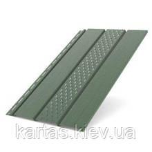 Панель софит перфорированная 310x4000 (1.22m2) Bryza Зеленый