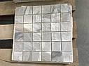 Мраморная Мозаичная плитка Полированная МКР-3П (47х47) 6 мм Grey Mix, фото 6