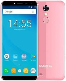 Oukitel C8 2/16Gb 4G Pink Гарантия 1 Год!