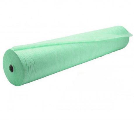 Одноразовая простынь в рулоне Спанбонд Polix PRO&MED 25 г/м² 0,6x100 м 10 УП 10 ШТ Мятная
