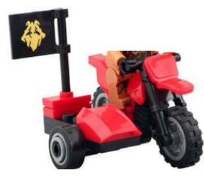 Фигурка мотоцикл Ninjago ниндзяго Lego Лего