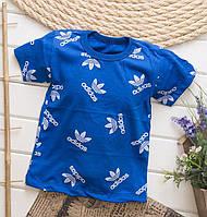 Детская футболка для мальчика в стиле Адидас 1-4 года