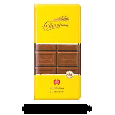 """Белорусский шоколад с начинкой """"Столичный"""" 100 гр ТМ Коммунарка, фото 2"""