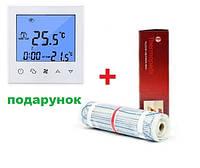 Теплый пол Thermopads FHMT-200/2400Вт, 12 кв.м (нагревательный мат) 0,5х24 м