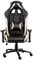 Кресло Special4You ExtremeRace 3 black/cream (E5654), фото 1