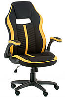Кресло Special4You Prime black/yellow (E5548)