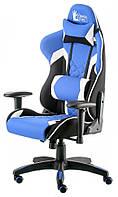 Кресло Special4You ExtremeRace 3 black/blue (E5647), фото 1