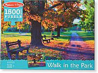 """Картонный пазл Melissa & Doug """"Прогулка в парке"""", 1500 эл."""