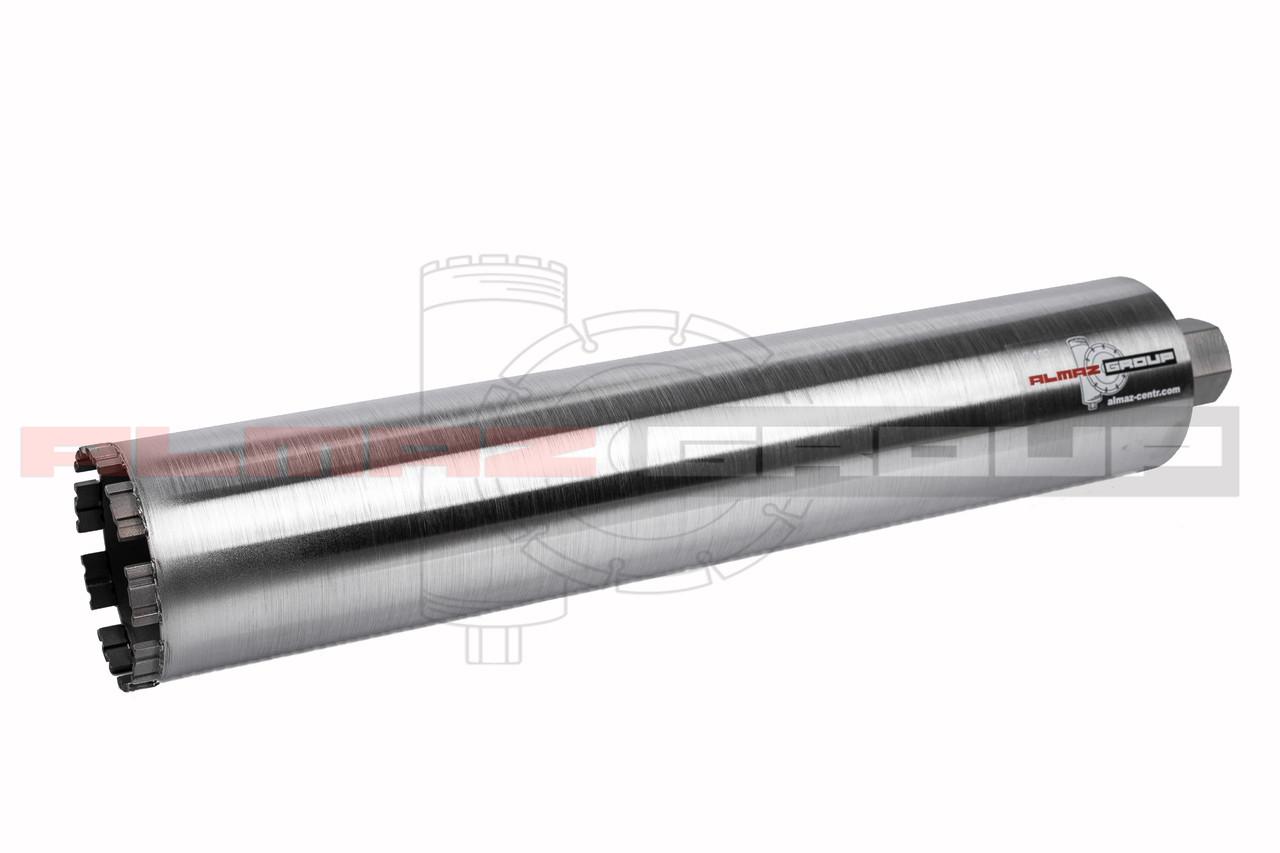 Алмазная коронка Almaz Group Ø 114 длина 500 мм сегмент Turbo-X