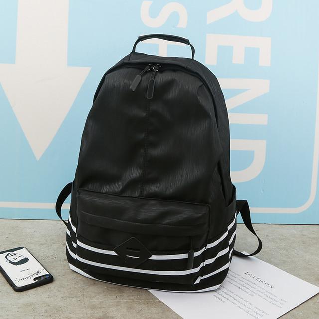 Рюкзак з нейлону чорний