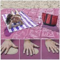 Пляжный коврик подстилка антипесок 200×200 Sand-free Mat