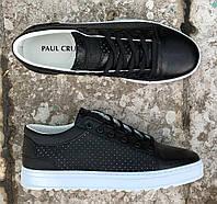 Чоловічі кросівки Paul Cruz 01 black/white