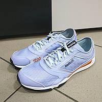 Кроссовки беговые голубые Reebok Training, 41