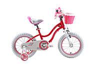 """Детский велосипед Royal Baby 16"""" Stargirl розовый (RB16G-1)"""