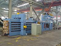Горизонтальный автоматический пресс для макулатуры HPA80