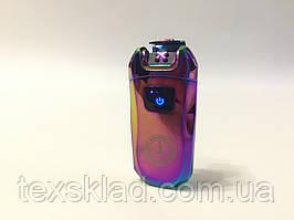 Електроімпульсна запальничка Mercedes-Benz портативна електронна акумуляторна USB / Хамелеон (5407)