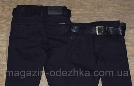 Школьные брюки для мальчика, оптом, 6-7-8-9-10 лет, фото 2
