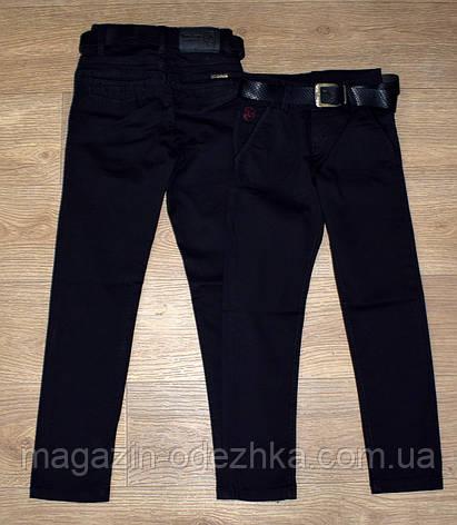 Школьные брюки для мальчика 6-7-8-9-10 лет, фото 2