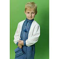 """Домоткана вышитая рубашка для мальчика """"Стасик 2"""""""