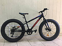"Велосипед фэтбайк Crosser Fat Bike 24"" (Стальной) , фото 1"