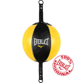 Груша пневматическая Everlast Leather на растяжках (4220-7)