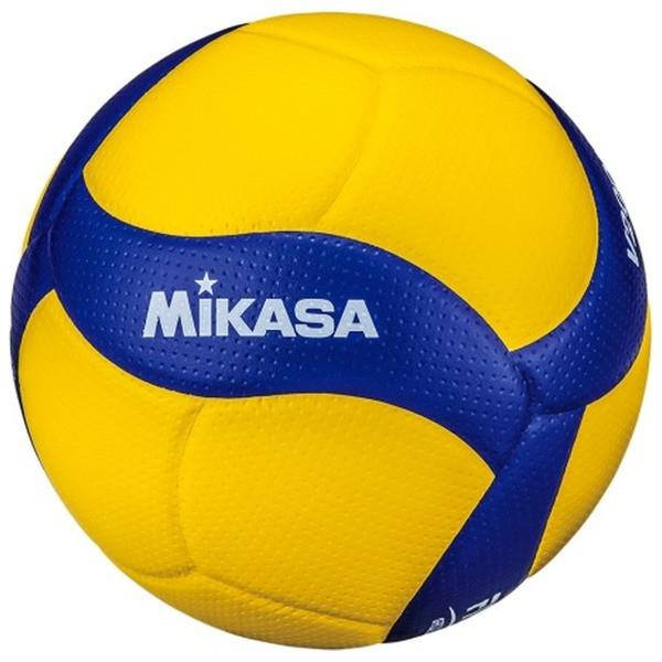 М'яч волейбольний професійний Mikasa V200W Жовто-синій (4907225880980)