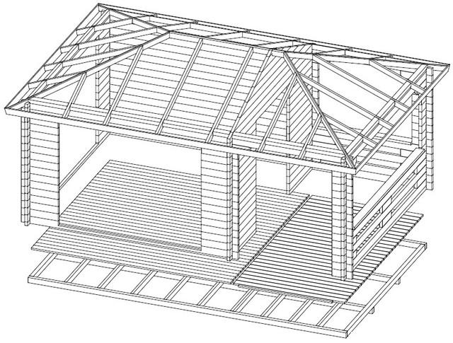 Домик садовый фото 1