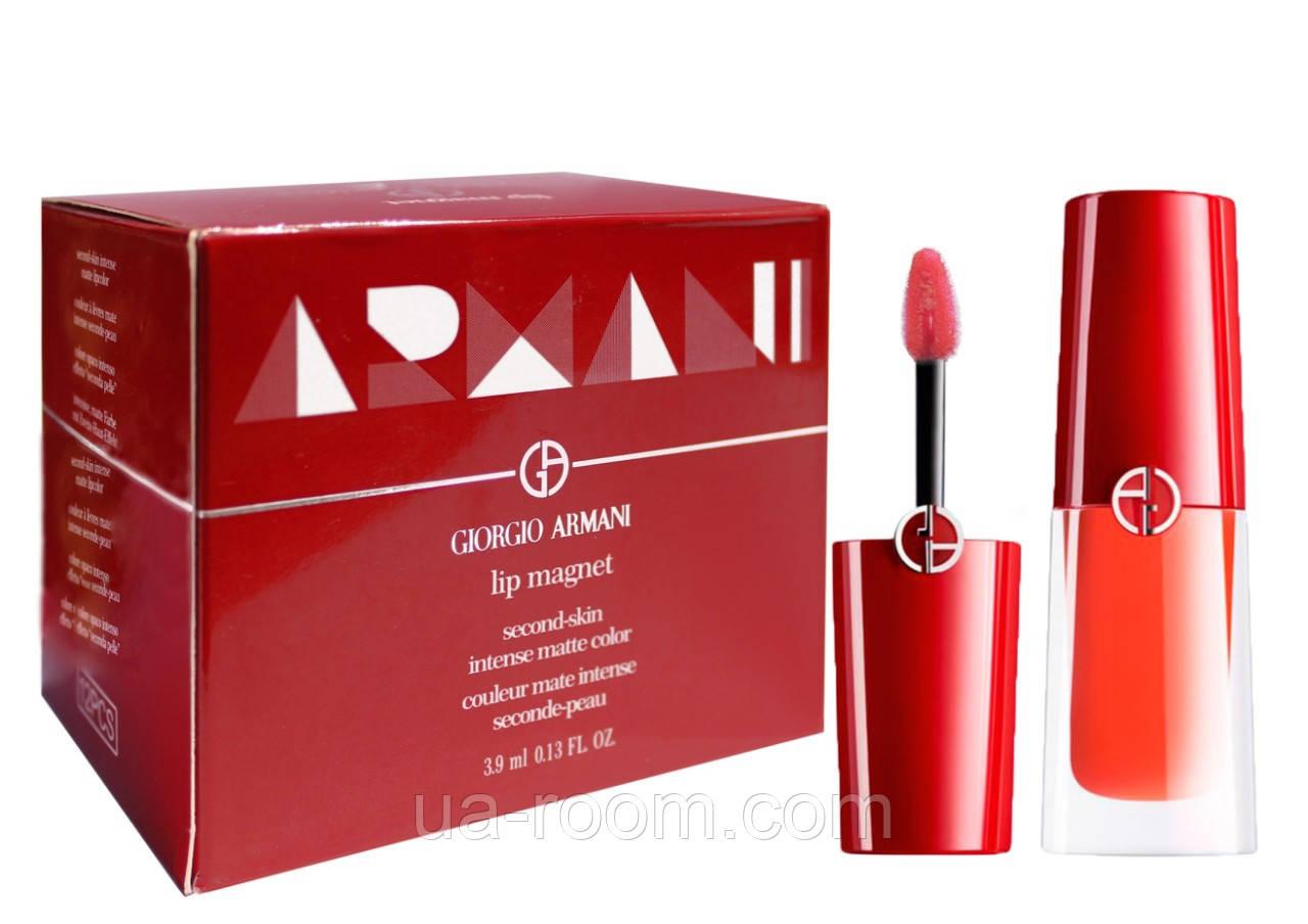 Стойкий блеск для губ Giorgio Armani Lip Magnet Liquid Lipstick