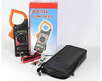 Мультиметр DT 266 FT, Токоизмерительные клещи, Токовые клещи, Цифровой мультиметр тестер, Измерительный прибор