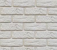 Декоративный камень Decor Brick Off-White (сегменты со швом), фото 1