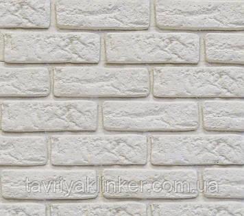 Декоративний камінь Decor Brick Off-White (сегменти зі швом)