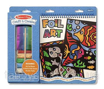 """Набор для творчества """"Разноцветная гравюра"""" Melissa & Doug"""