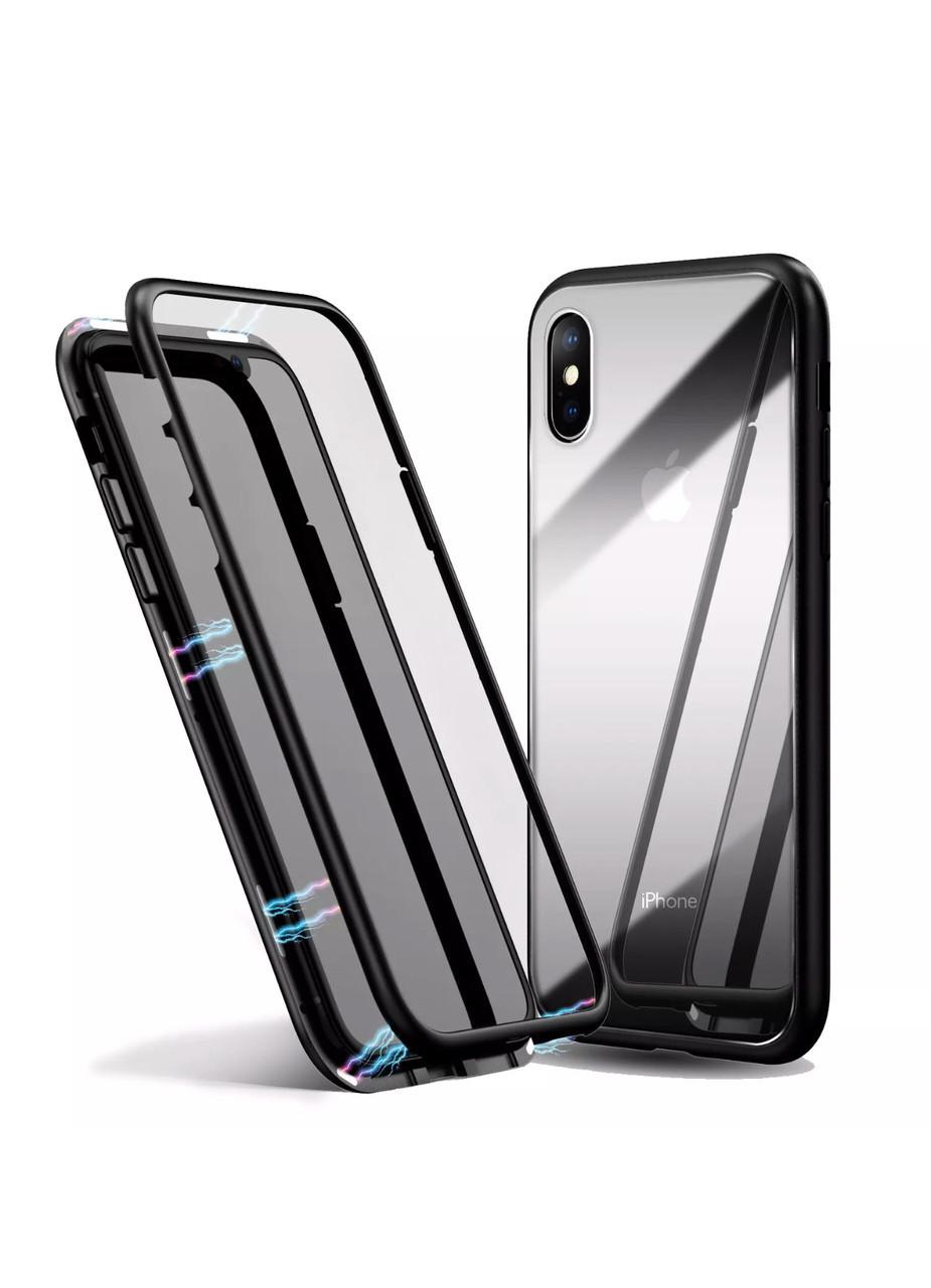 Чехол для IPhone X/XS Магнитный + стекло в подарок