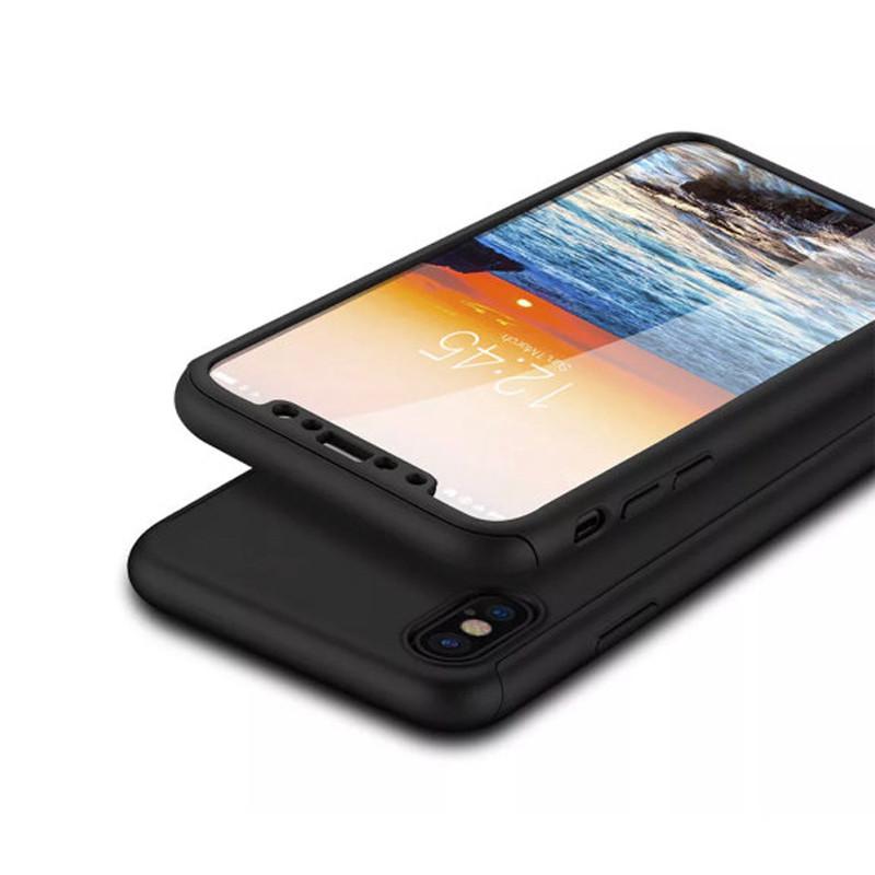 Чехол противоударный 360 для IPhone X/IPhone XS +стекло