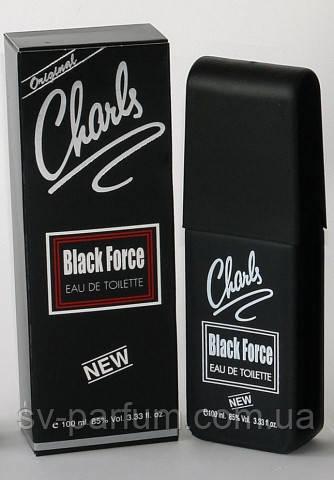Туалетная вода мужская Charls Black Force 100ml