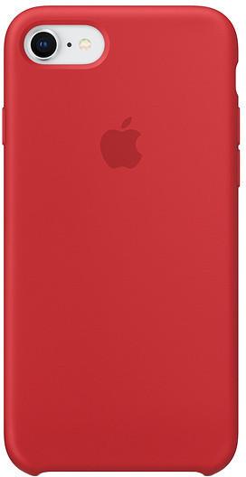 Накладка чехол для  iPhone 6/6sSilicone case, red
