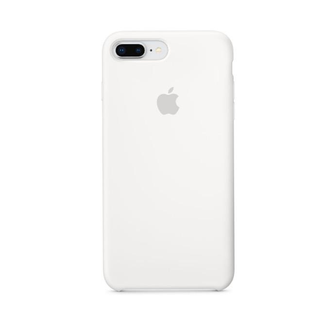 Накладка чехол для  iPhone 7 plus/Iphone 8 plus Silicone case, белый