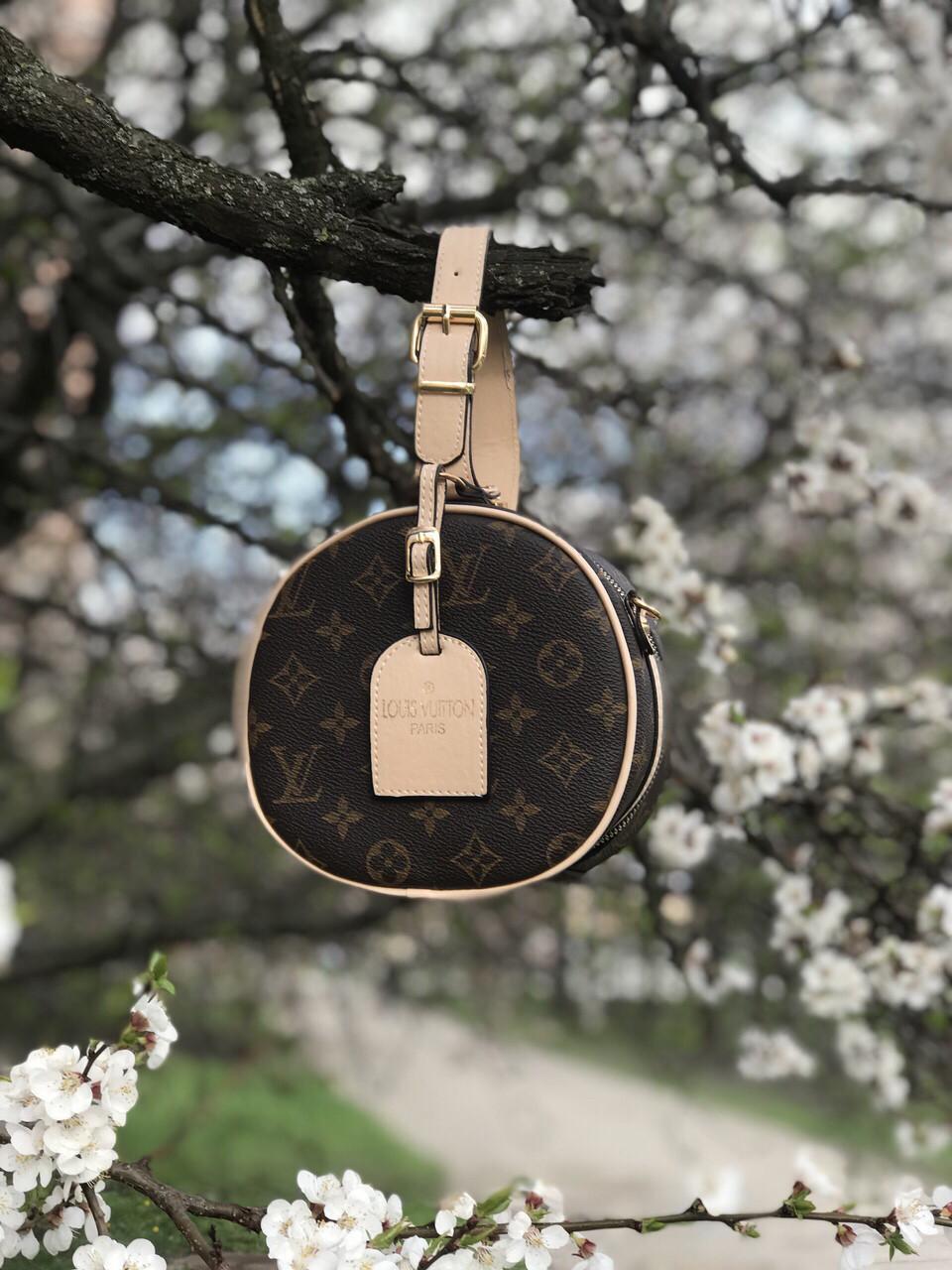 Сумка Клатч  круглая Louis Vuitton (реплика луи витон)