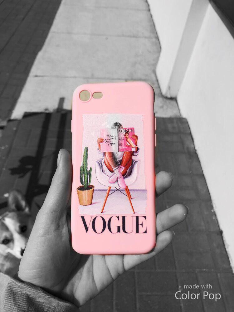 Силиконовый чехол IPhone 6/Iphone 6s Pink