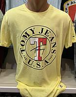 Мужские брендовые футболки Hilfiger- турецкая реплика