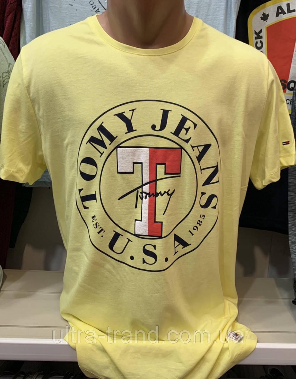 fdf17163d8dbe Мужские брендовые футболки Hilfiger- турецкая реплика, цена 250 грн.,  купить в Харькове — Prom.ua (ID#551034067)