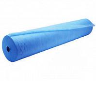 Одноразовая простынь в рулоне SMS Polix PRO&MED 25 г/м² 0,6x100 м 10 УП 10 ШТ Синяя, фото 1