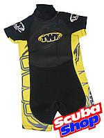 Гидрокостюм детский TWF Protector Yellow для плавания (желтый)
