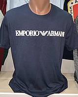 Мужские брендовые футболки Emporio Armani реплика